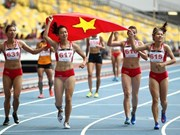 Vietnam finaliza en tercer lugar de los SEA Games 29 con 58 medallas de oro