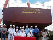 Astillero vietnamita inicia construcción de buque arrastrero para Canadá