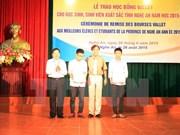 Ayudan a estudiantes vietnamitas con escasez económicas