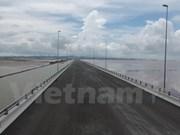 Entra en operación el puente sobre el mar más largo de Vietnam