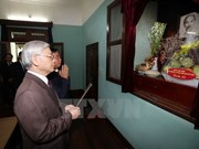 Rinden tributo al Presidente Ho Chi Minh por Día Nacional