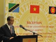 Conmemoran en Tanzania, Rusia y Laos Día Nacional de Vietnam