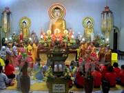 Vietnamitas en Laos celebran ceremonia budista de Vu Lan