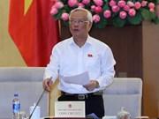 Comisión del Parlamento vietnamita debate sobre lucha anticorrupción