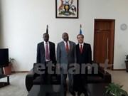 Uganda desea desarrollar nexos con Vietnam