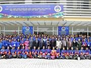 Uniones juveniles de Vietnam y Laos firman acuerdo de cooperación