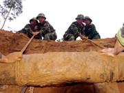 Aprecian empeño de Vietnam en superación de secuelas de bombas remanentes de guerras