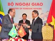 Vietnam desea intensificar lazos integrales con Brasil