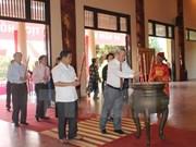 Recuerdan al Presidente Ho Chi Minh en su tierra natal