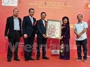 Efectúan exposición de pinturas Vietnam-China en Beijing