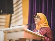 Extitular del Parlamento se convertirá en presidenta de Singapur