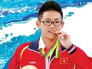Nadador vietnamita gana dos medallas de oro en evento asiático
