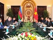 Vietnam y Azerbaiyán buscan una mayor cooperación