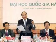 Resaltan papel de Universidad Nacional de Hanoi en sistema educativo de Vietnam