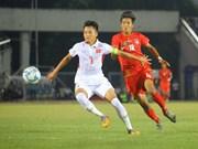 Equipo sub-18 de fútbol de Vietnam eliminado de Campeonato del Sudeste Asiático