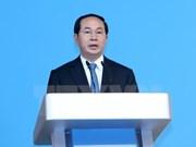 Presidente de Vietnam saluda AIPA-38