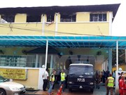 Malasia detiene sospechosos del incendio en escuela en Kuala Lumpur