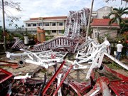 Localidades centrales de Vietnam superan consecuencias del tifón Doksuri