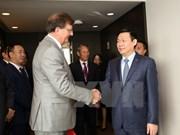 Vicepremier de Vietnam se entrevista con dirigentes de Unión Europea