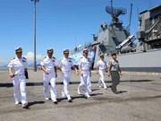 Buques de la Marina de Sudcorea visitan ciudad vietnamita de Da Nang