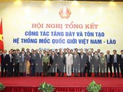 Vietnam y Laos revisan labor de demarcación fronteriza