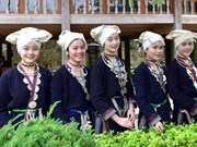 Celebran en Tuyen Quang Festival de la cultura étnica Dao