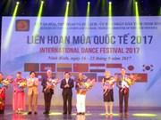 Clausuran en provincia vietnamita festival internacional de danza 2017