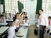 Vietnam busca mejorar calidad de educación primaria y secundaria