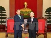 Vietnam atesora amistad con Hungría, afirma secretario general del Partido Comunista