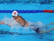 Anh Vien establece nueva plusmarca en natación de Juegos Asiáticos Bajo Techo