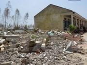 Vicepresidenta vietnamita entrega ayudas a los afectados por el tifón Doksuri