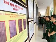 Exhiben en provincia norvietnamita evidencias de soberanía marítima nacional
