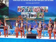 Vietnam promueve desarrollo de cultura de las minorías étnicas