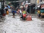 Filipinas recibe asistencia internacional para enfrentar inundaciones en Manila