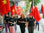 Hanoi recibió a 321 mil turistas extranjeros en septiembre