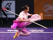 Wushuista Duong Thuy Vi gana primera presea dorada para Vietnam en Campeonato Internacional