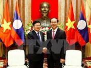 Vietnam prioriza consolidación de lazos con Laos, afirma presidente Dai Quang
