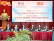 Celebran seminario sobre código penal y procedimiento judicial Vietnam-EE.UU