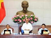 Gobierno vietnamita analiza situación económica de primeros nueve meses de 2017