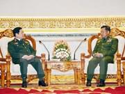 Lazos en defensa, elemento importante para impulsar relaciones Vietnam- Myanmar
