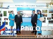 Inicia aerolínea tailandesa ruta Bangkok- Phu Quoc