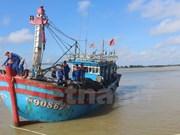 Quang Nam realiza esfuerzos para respaldar la pesca en alta mar