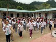 Canon inaugura círculo infantil en provincia montañosa de Vietnam