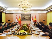 Vietnam y Singapur efectúan octavo Diálogo de Políticas de Defensa
