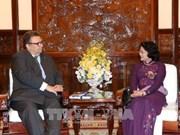Vicepresidenta vietnamita destaca fructífero desarrollo de nexos con Finlandia