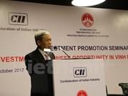 Celebran en India conferencia de promoción inversionista en provincia vietnamita de Vinh Phuc