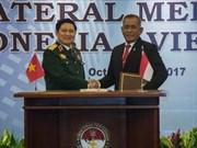 Vietnam e Indonesia firman declaración sobre cooperación en defensa