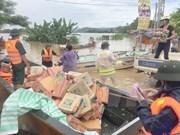 Vietnamitas realizan actividades de apoyo a víctimas de inundaciones