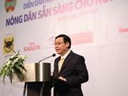 Vicepremier vietnamita subraya el rol de campesinos en transformación agrícola