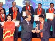 Honran en Vietnam a agricultores destacados en 2017